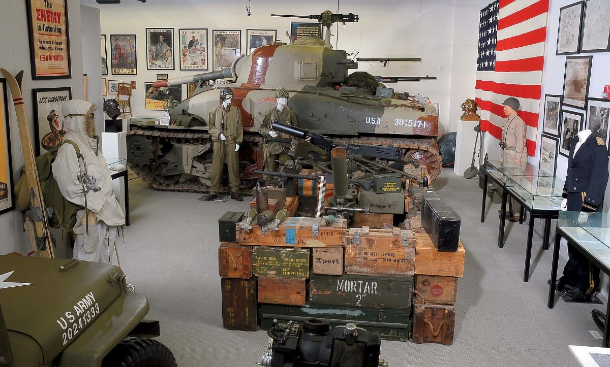 The Museum Of World War II In Natick Emphasizes Primary Historical - Military museums in us