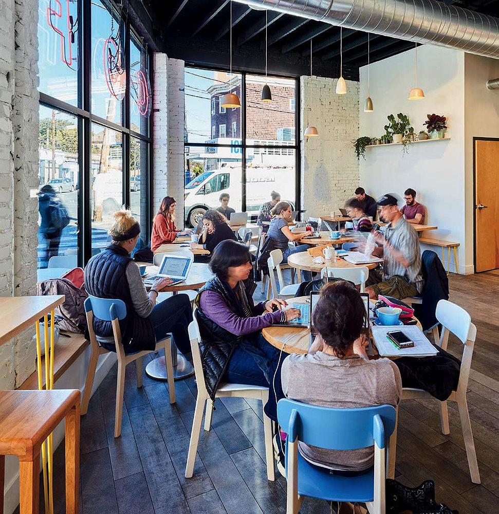 Broadsheet Coffee Roasters in Cambridge | Harvard Magazine