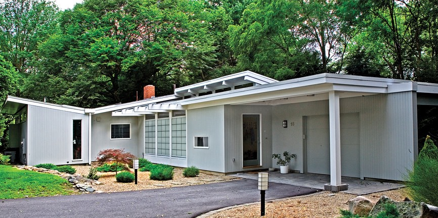 Mid Modern Century Homes modernist homes in lexington and cape cod | harvard magazine