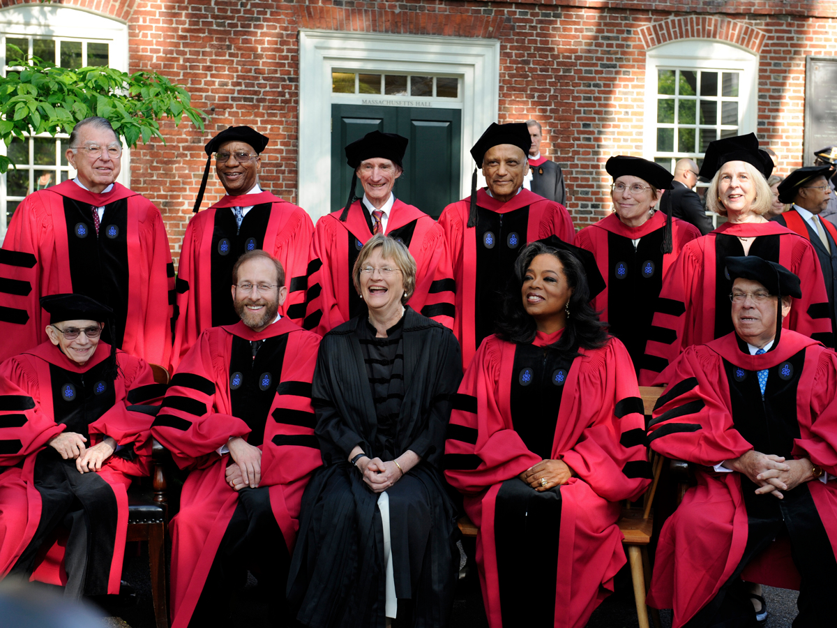 Phd degree in harvard university