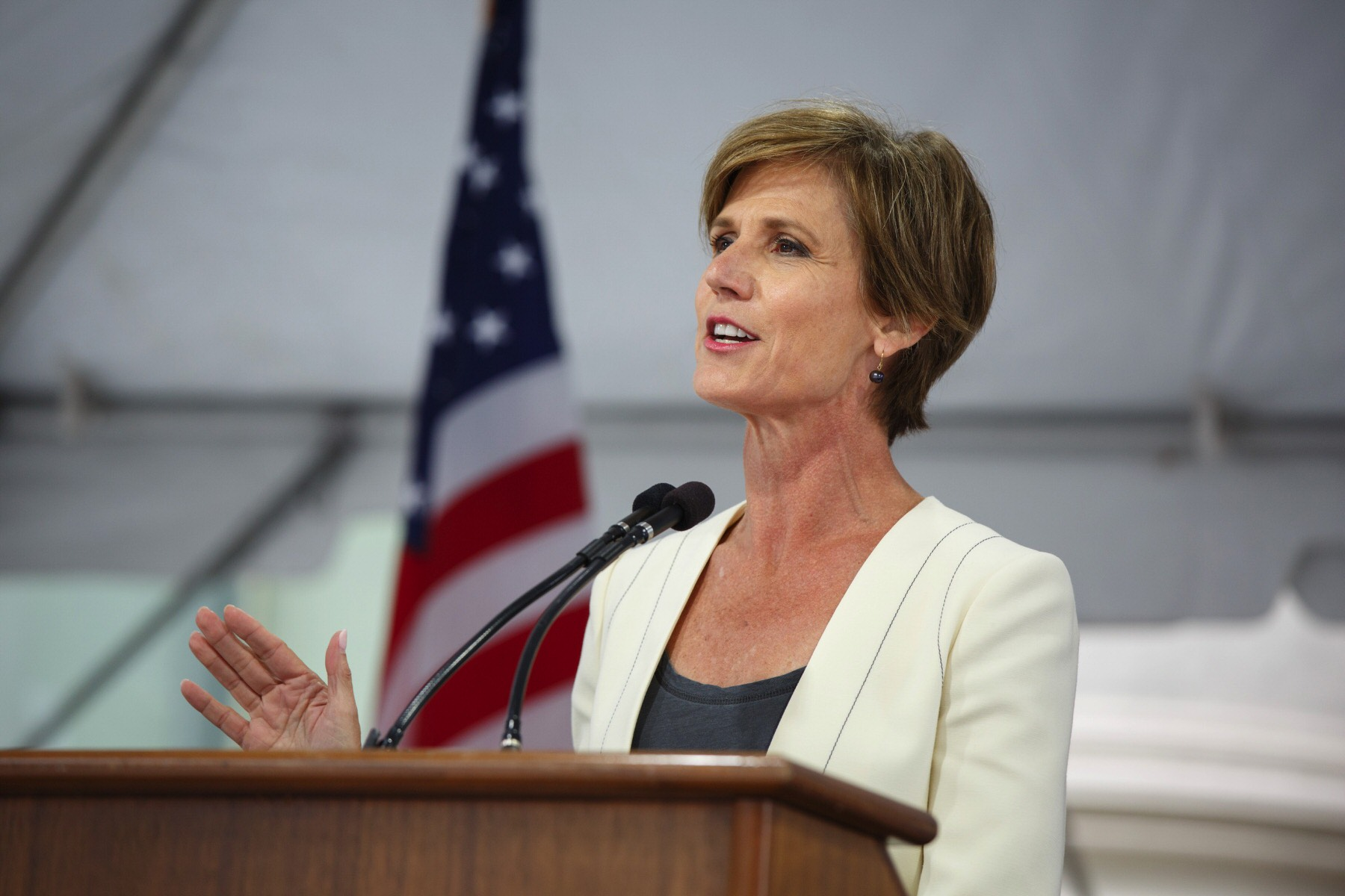Sally Yates Explains Why She Defied Trump On The Travel Ban