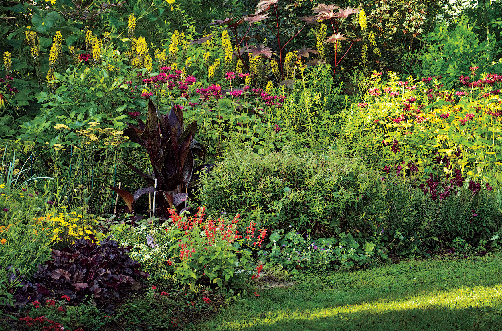 essay about gardening water garden ilona bell cultivates a  ilona bell cultivates a literary garden in the berkshires the hot border in summer