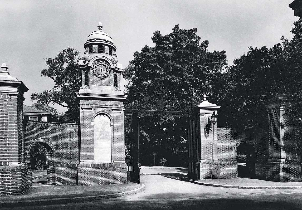 Photograph courtesy of the Harvard University Archives
