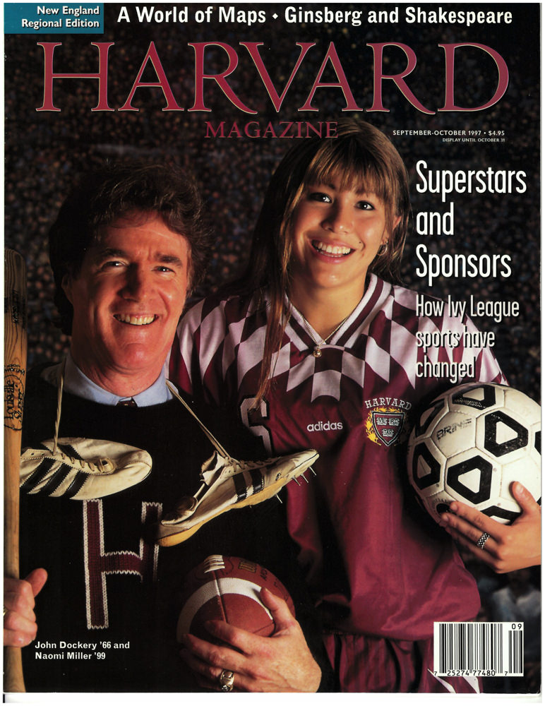 488c2b02 From the original cover in 1997: John Dockery '66, the only alumnus to earn  a Super Bowl ring (click the white arrow on the right to see full image),  ...