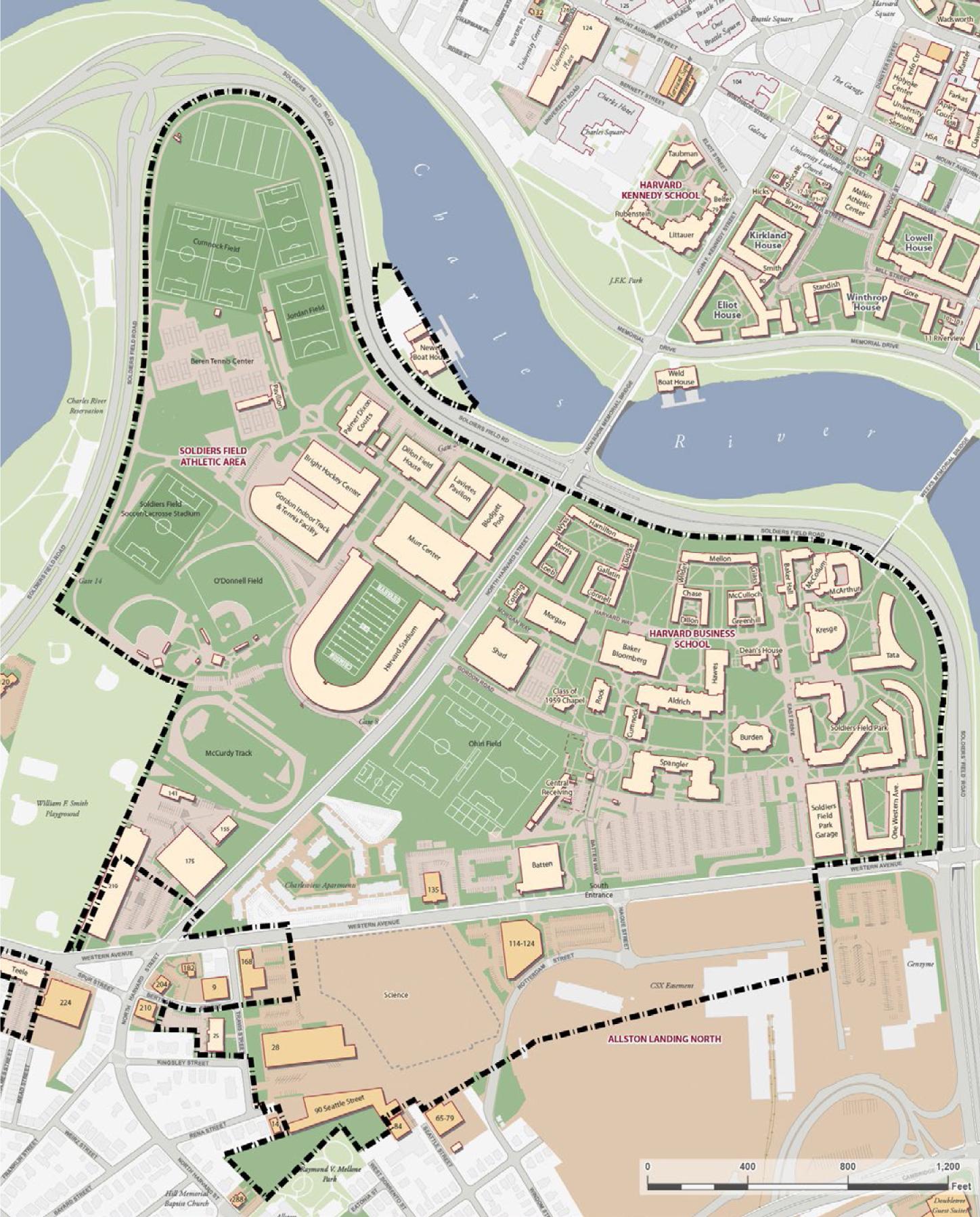 Harvard Classroom Design : Harvard files institutional master plan for allston with