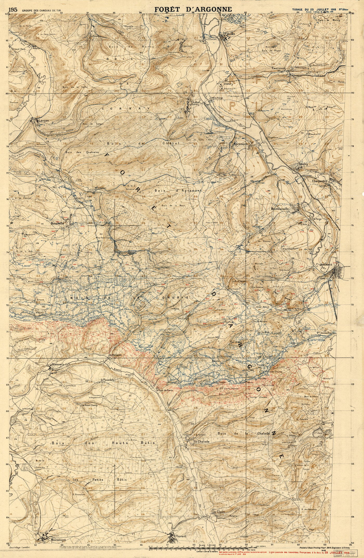 Harvard map collection exhibits maps of the trenches in world war i catastrophe mapped gumiabroncs Image collections