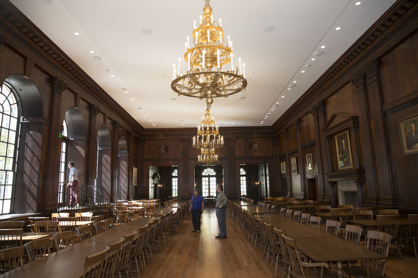 Renewed dunster house opens for harvard undergraduates for House dining hall design