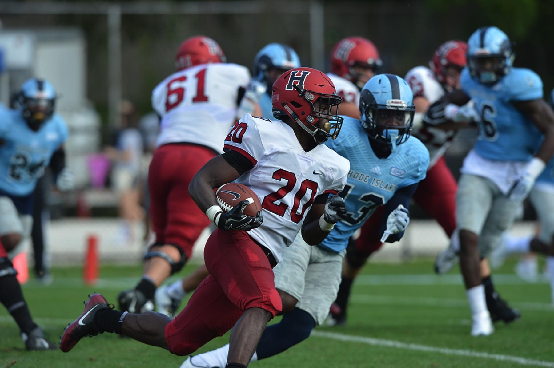 Harvard Rhode Island Football