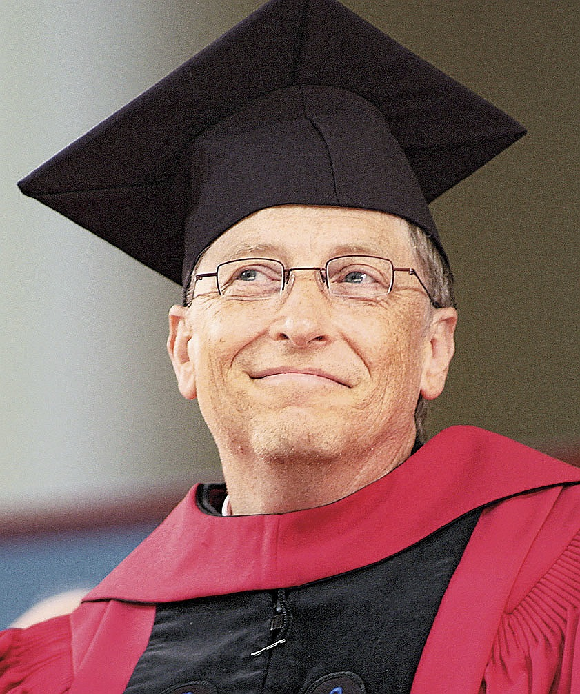 what did bill gates overcome Bill gates is one of the richest men alive did you know bill gates dropped out  of harvard to create microsoft with friend paul allen did you know in 2014.