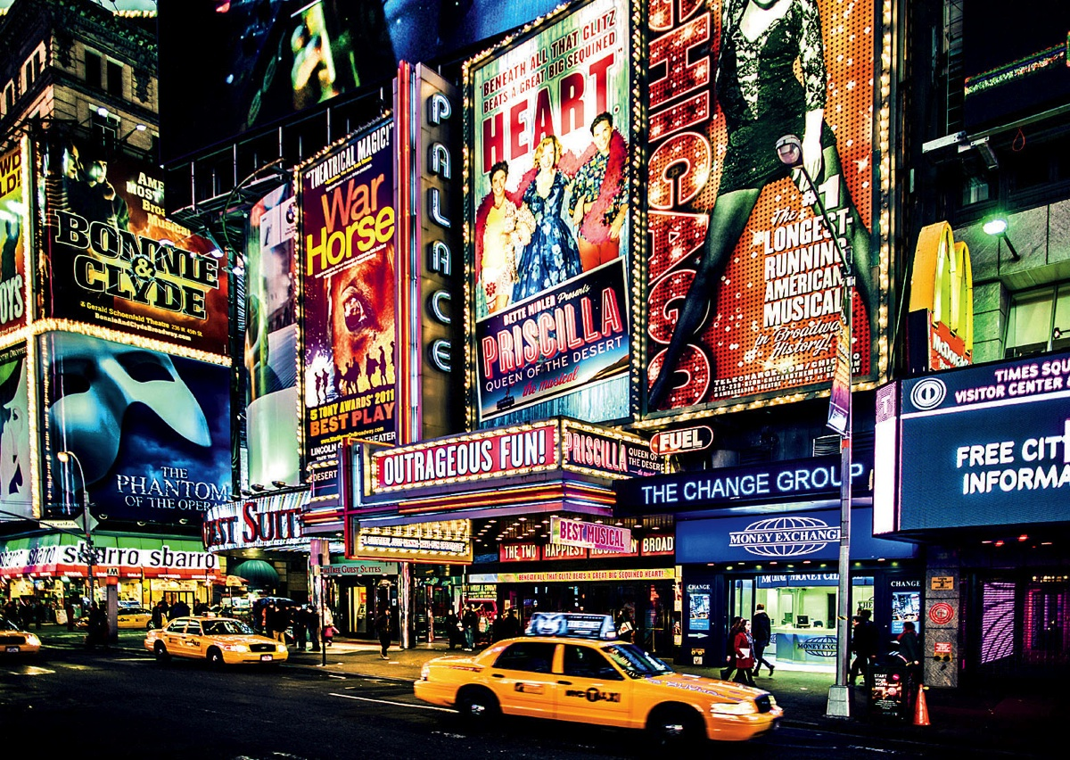 Visualizing Broadway Harvard Magazine