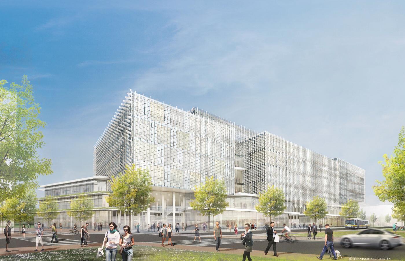 Harvard unveils plans for science and engineering center - Behnisch architekten boston ...
