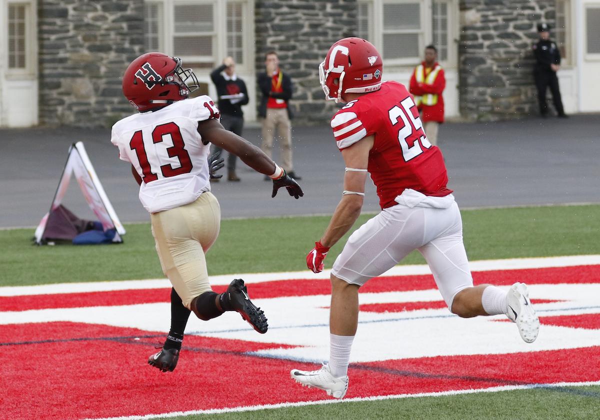 Crimson Football 2018: Harvard 24, Cornell 28 | Harvard Magazine