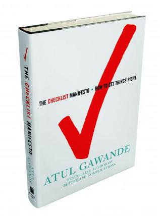 Atul gawandes book the checklist manifesto