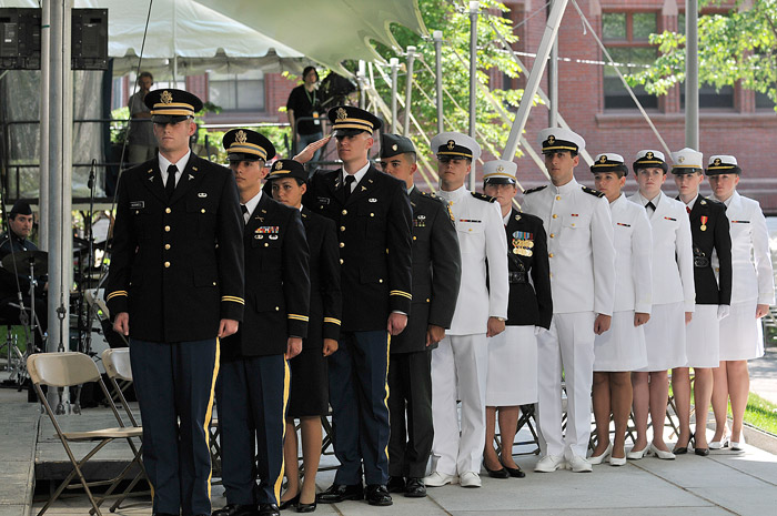 Left Bank of the Charles: Harvard Reenlists in the U.S. Navy ROTC