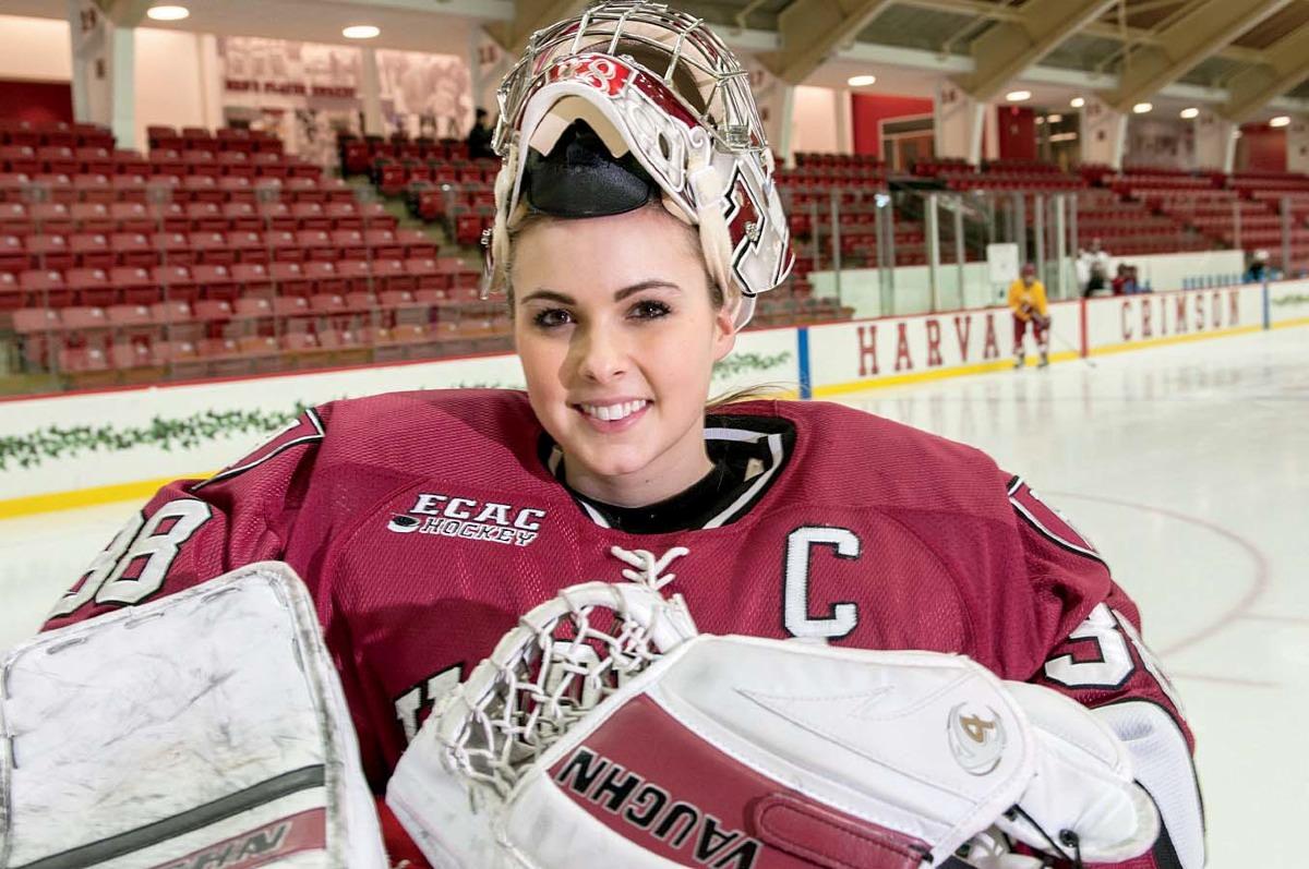 Profile Of Emerance Maschmeyer Harvard Women S Hockey Goalie