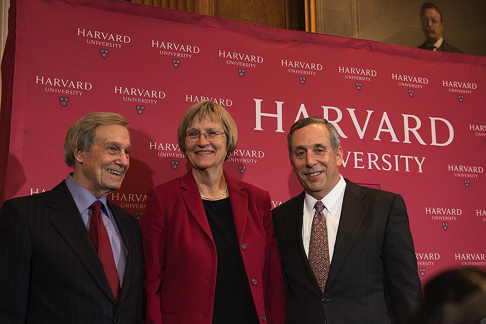 Harvard Names Lawrence Bacow President | Harvard Magazine