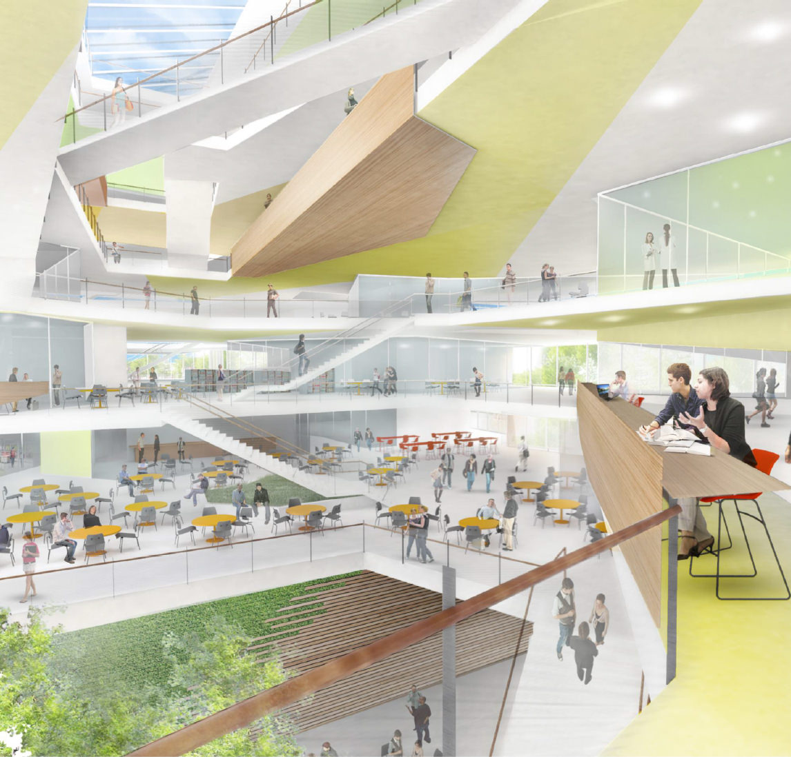 Designs Science Center: Harvard's Science And Engineering Complex In Allston Wins