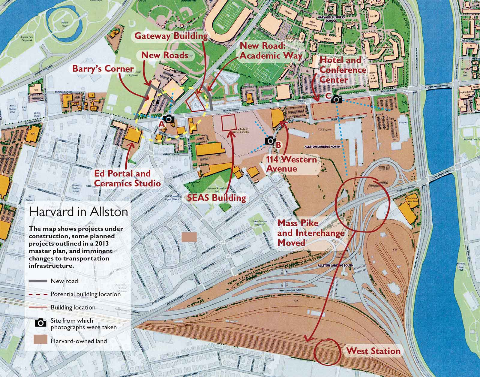 Walsh Campus Map.Allston Ready For Academic Expansion Harvard Magazine