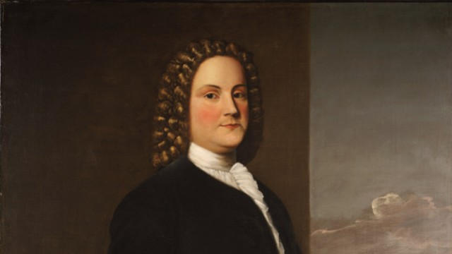A portrait of Benjamin Franklin painted by Robert Feke