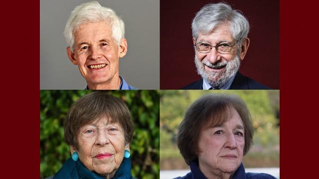 Stephen Cook, Albert Fishlow, Margaret Kivelson, and Helen Vendler