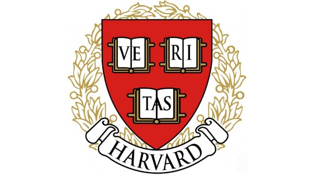 The Harvard University shield