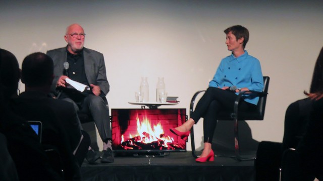 Sarah Whiting in convesation with K. Michael Hays at the Graduate School of Design