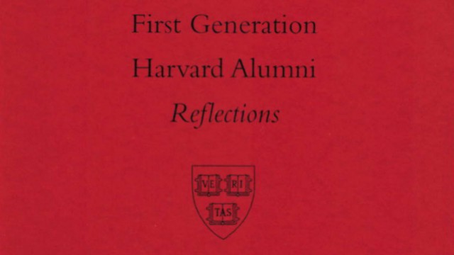 Cover of first-generation alumni report