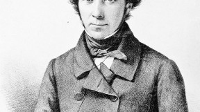 A reserved Alexis de Tocqueville, portrayed when he was in his thirties—some years after his momentous American travels.