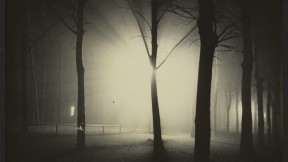 <i>Untitled</i> (Night View of Trees and Streetlamp, Burgkühnauer Allee, Dessau), 1928