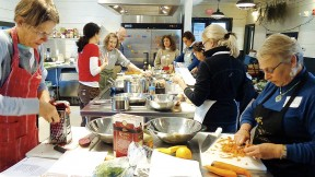 A winter soupmaking workshop