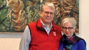 Mather House co-master Michael Rosengarten and master Christie McDonald