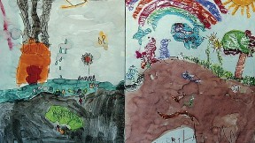 Yucky Pollution, Shiny Pretty, 2001, Hilltop Children's Center, Seattle. From <em>Can Poetry Save the Earth?</em>