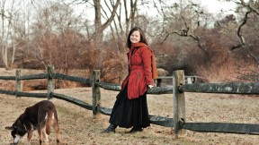 Pulitzer Prize winner Geraldine Brooks at home on Martha's Vineyard, one setting in her new novel