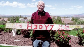 Altrocchi at his home in Reno. The goalpost has to go.