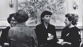 Photograph of Radcliffe Bunting Fellows circa 1964-1972