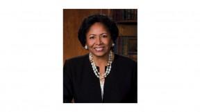 Photograph of Ruth J. Simmons, Harvard's virtual graduation speaker in May
