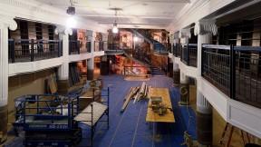 Interior photograph of Harvard COOP main floor renovation