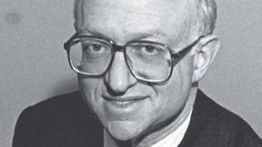 Photograph of Harvard economist Martin Feldstein