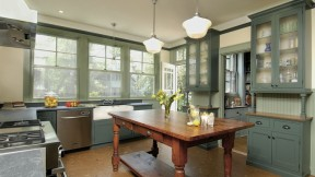 Kitchens in older homes—unlit, utilitarian, and at the rear of the house—reflect a role for women that we no longer tolerate, says remodeler Charlie Allen. This restoration aimed to connect the kitchen to the outdoors and the rest of the house.