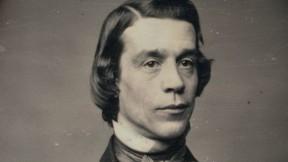 Daguerreotype portrait of Unitarian minister Thomas Starr King
