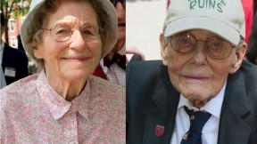 Marjorie Thomas and Donald F. Brown