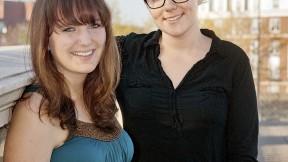 Kathryn Reed and Cherone Duggan
