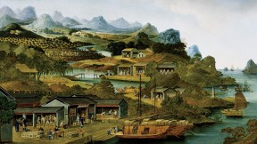 Tea production in China, c.1790-1800
