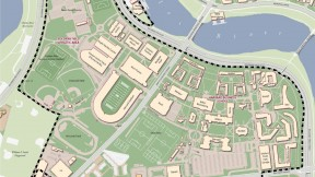 Existing campus map: Allston buildings (2013)