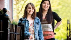 Olivia Munk and Melanie Wang