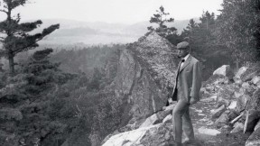 George Bucknam Dorr on the Beachcroft Path on Huguenot Head