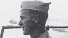 Robert M. Pennoyer, age 19, on duty in 1944