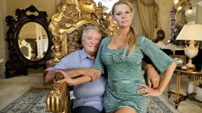 David and Jackie Siegel relaxing at home in <i>The Queen of Versailles</i>