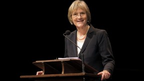 President Drew Faust, setting the campaign context