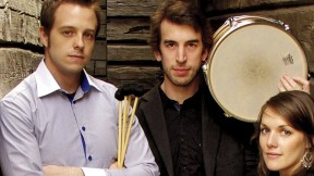 The trio Ensemble Evolution performs its eclectic compositions at the Arnold Arboretum